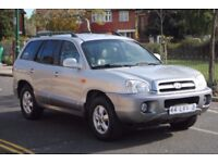 LHD LEFT HAND DRIVE HYUNDAI SANTA FE 2005 4x4, AUTOMATIC,LEATHER, AIRCO, CRUISE CONTROL,CLEAN CAR