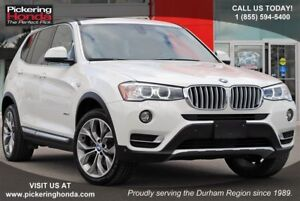 2017 BMW X3 xDrive28i LEATHER NAVI SUNROOF