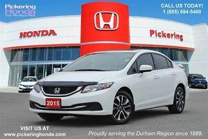 2015 Honda Civic EX | SUNROOF | REAR & SIDE CAMERA| BLUETOOTH