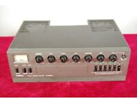 Inkel PA2500D 120W PA Amplifier. 3 Mic inputs, aux input - Mains or Battery.