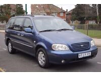 LHD LEFT HAND KIA CARNIVAL EX 7 SEATER 2003 AUTOMATIC PETROL FULLY LOADED
