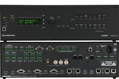 Crestron Dmps-300-c Hdmi Digital Media 300 Conference Presentation System