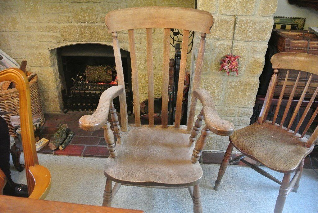 Antique pine kitchen chair- very old. Beautiful grain - perfect for a  farmhouse kitchen - Antique Pine Kitchen Chair- Very Old. Beautiful Grain - Perfect For