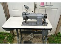 Singer Compound Feed Industrial Walking Foot Sewing Machine FOR HANDBAGS, UPHOLSTERY, BOUNCY CASTLES