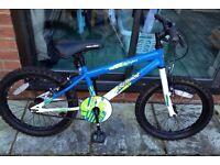 Apollo Outrage Boys Bike 18 inch Blue/White
