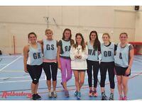 Social netball leagues in Balham