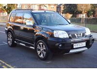 LHD LEFT HAND DRIVE NISSAN X-TRAIL 2006 4x4,DVD PLAYER, AUTOMATIC,LEATHER , PARKING SENSORS,SAT-NAV