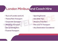 Mercedes Minibus Hire With Driver - London Service, Price MATCH Guarantee. New reliable buses.