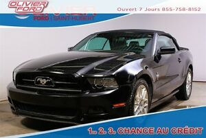 2014 Ford Mustang V6 Premium RWD CUIR DÉCAPOTABLE A/C