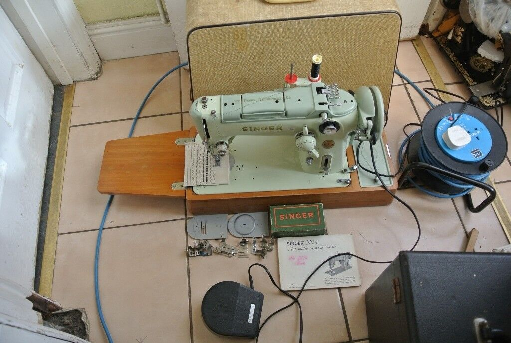 Singer 319K Freehand Embroidery Semi Industrial Heavy Machine