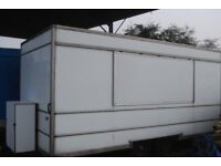 catering trailer 16 x 8