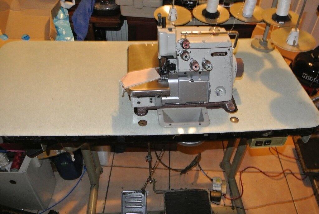 Brother Industrial Overlocking Sewing Machine In Southmead Impressive Brother Industrial Overlock Sewing Machine