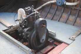 Stuart Sole 8hp Deisel Inboard. Very Old but apparently was running two years ago.