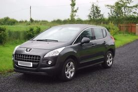 Peugeot 3008 1.6 HDi Active 5 door 2012 33000 miles LOW Immaculate Condition