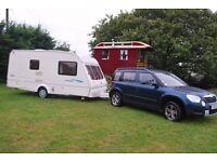 2 berth touring caravan, SOLD