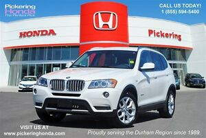 2014 BMW X3 xDrive28i | LEATHER | PANORAMIC VIEW