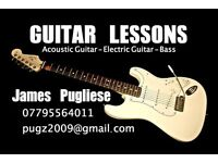 Guitar Tuition - Lessons from an experienced musician and teacher. (£20)