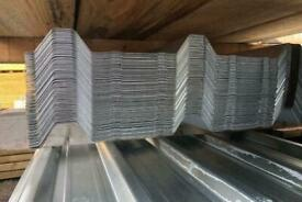 New Galvanised Box Profile Roof Sheets