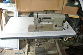 "Brother Heavy Duty Twin 5/16"" Gauge Needle feed Sewing machine-Upholstery, Canvas,"