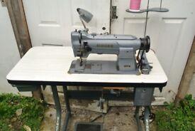 Singer 211G165 Compound Feed Industrial Walking Foot Machine