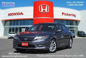 2013 Honda Accord Touring | LEATHER | NAVIGATION | REAR & SIDE
