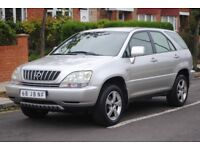 LHD LEFT HAND DRIVE LEXUS RX300 EXECUTIVE 2002 4x4 AUTOMATIC,SAT-NAV, LEATHER SEAT LOADED