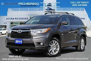 2014 Toyota Highlander XLE|Leather|Navi|Sunroof
