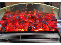 RED/ORANGE GLASS COALS WANTED FOR FREE