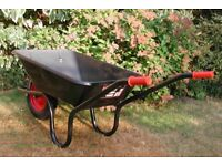 uk made chillington 85ltr wheel barrow used once only free delivery leicester
