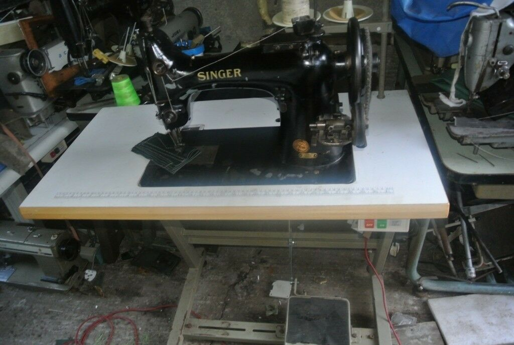 Singer 40K40 Walking Foot Lockstitch Straight Stitch Industrial Awesome Singer Walking Foot Industrial Sewing Machine