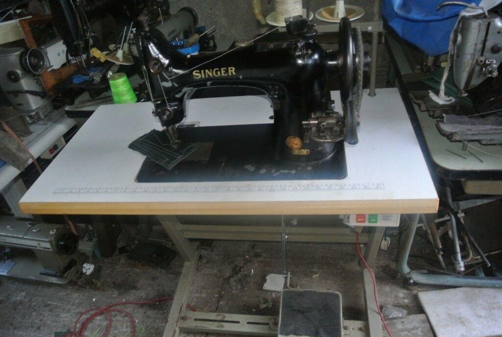 Singer 40K40 Walking Foot Lockstitch Straight Stitch Industrial Awesome Singer Walking Foot Industrial Sewing Machine