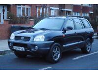 LHD LEFT HAND DRIVE HYUNDAI SANTA FE 2004 4x4, AUTOMATIC, AIRCO, CRUISE CONTROL,CLEAN CAR