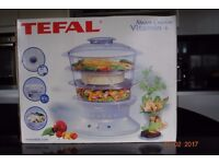 Tefal Steam Cuisine Vitamin Plus , 3 Tier, Never Used Unwanted Gift Boxed