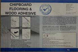 Chipboard Flooring & Wood Adhesive 1KG X 12 Bottles