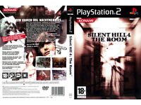 playstation 2 game silent hill 4 the room (rare & collectable)(pre-owned)