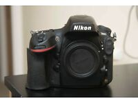 Used Nikon D800 body only