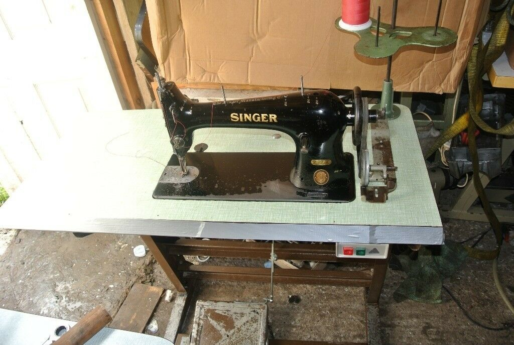 Singer WALKING FOOT Industrial Sewing Machine In Westbury On Trym Gorgeous Singer Walking Foot Industrial Sewing Machine