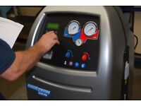 R1234YF Car Air Conditioning Regas, Recharge, Refill Service. New R1234YF Gas