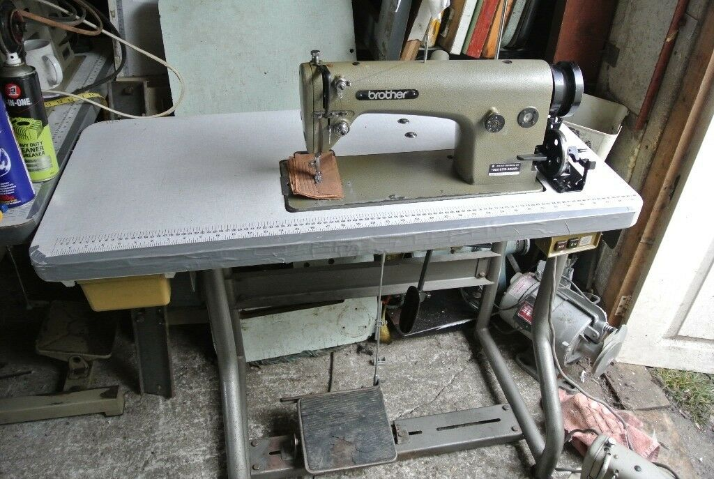 Brother DB40B4040AB Lockstitch Heavy Duty Industrial Sewing Delectable Brother Sewing Machine Heavy Duty