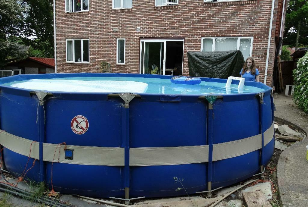 Summer fun above ground swimming pool in chandlers ford - Above ground swimming pool rental ...
