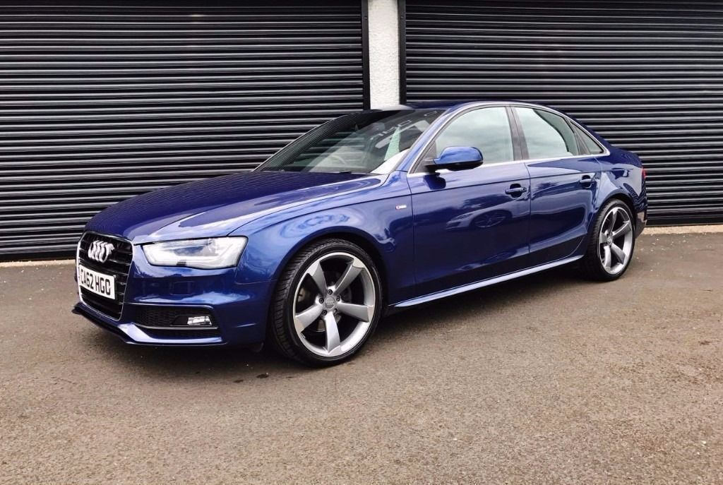 2013 AUDI A4 2.0 TDI 143 S LINE AUTO *SCUBA BLUE* FINANCE AVAILABLE | in Cullybackey, County ...