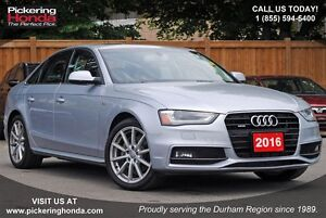 2016 Audi A4 2.0T Progressiv plus LEATHER SUNROOF NAVI