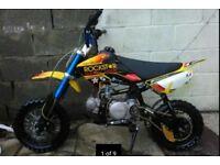 Stomp 110cc pit bike for sale plus loads of spare parts