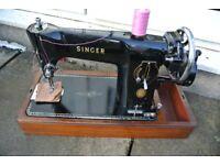 Singer 201K Handcrank Semi-Industrial Sewing Machine