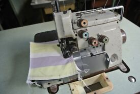 Brother industrial 3/5 Thread overlocking sewing machine