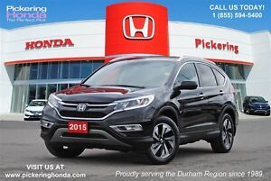 2015 Honda CR-V Touring | LEATHER | NAVI | HEATED SEATS