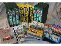 Collection of vintage motor racing VHS videos. Famous historical drivers and cars.