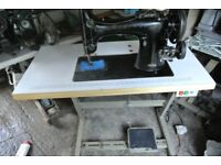 Singer 132K10 Heavy Duty Sewing Machine,-Horse Rugs***(6 LAYERS OF LEATHER SAMPLE SEWN)**