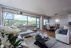 Luxury 3 bedroom apartment for rent in Westmount!