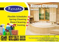 Domestic Cleaner and Ironer, Cleaning in West London TW area, Weekends and Evenings Available! £10/h